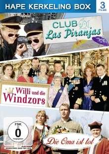 Hape Kerkeling Box: Club Las Piranjas / Willi und die Windzors / Die Oma ist tot, 3 DVDs