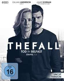 The Fall - Tod in Belfast Staffel 1-3 (Blu-ray), 6 Blu-ray Discs