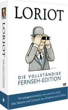 Loriot: Die vollständige Fernseh-Edition, 6 DVDs