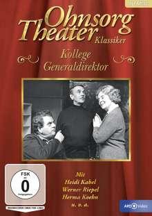 Ohnsorg Theater: Kollege Generaldirektor, DVD