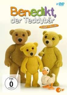 Benedikt, der Teddybär (Episoden 1-26), 2 DVDs