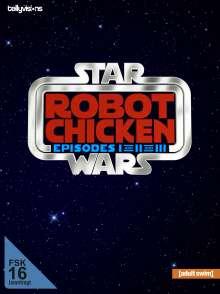 Robot Chicken Star Wars - Episodes I-III, 2 DVDs
