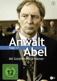 Anwalt Abel 1 - Ein Fall für Jean Abel (Folge 1-7), 4 DVDs