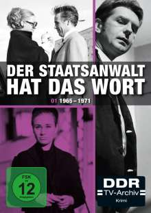 Der Staatsanwalt hat das Wort Box 1: 1965-1971, 3 DVDs