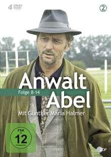 Anwalt Abel 2 - Ein Fall für Jean Abel (Folge 8-14), 4 DVDs