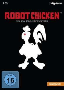 Robot Chicken Staffel 2, 2 DVDs