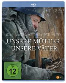 Unsere Mütter, unsere Väter (Blu-ray), 2 Blu-ray Discs