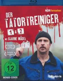 Der Tatortreiniger 1+2 (Blu-ray), 1 Blu-ray Disc und 1 DVD