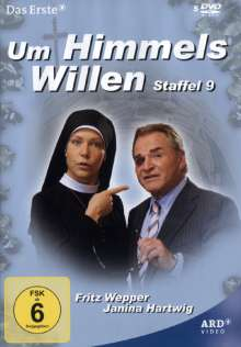 Um Himmels Willen Staffel 9, 5 DVDs