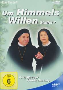 Um Himmels Willen Staffel 7, 4 DVDs