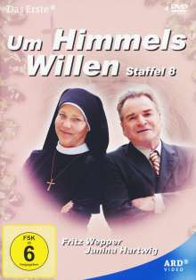Um Himmels Willen Staffel 8, 4 DVDs