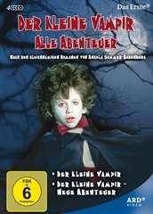 Der kleine Vampir / Der kleine Vampir - Neue Abenteuer, 4 DVDs