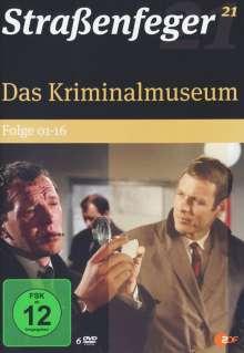 Straßenfeger Vol. 21: Das Kriminalmuseum Folge 1-16, DVD