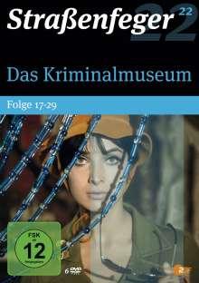 Straßenfeger Vol.22: Das Kriminalmuseum Folge 17-29, 6 DVDs