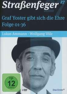 Straßenfeger Vol. 27: Graf Yoster gibt sich die Ehre Folge 1-36, 5 DVDs
