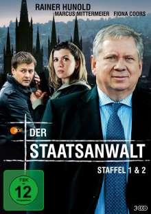 Der Staatsanwalt Staffel 1 & 2, 3 DVDs