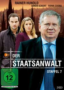 Der Staatsanwalt Staffel 7, 3 DVDs