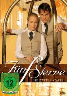 Fünf Sterne Staffel 2, 3 DVDs