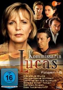 Kommissarin Lucas (Folge 07-12), 3 DVDs