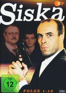 Siska Folge 1-12, 3 DVDs