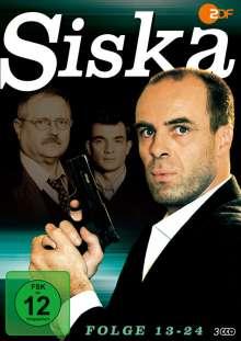 Siska Folge 13-24, 3 DVDs