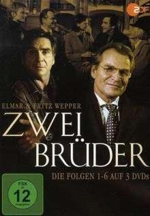 Zwei Brüder (Folge 1-6), 3 DVDs