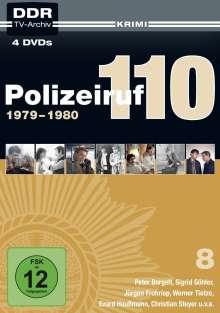 Polizeiruf 110 Box 8, 4 DVDs