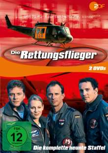 Die Rettungsflieger Staffel 9, 2 DVDs