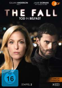 The Fall - Tod in Belfast Staffel 2, 3 DVDs