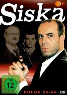 Siska Folge 25-36, 3 DVDs
