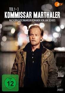 Kommissar Marthaler 1-3, 3 DVDs