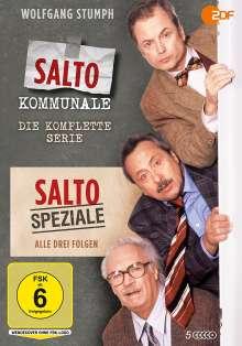 Salto Kommunale / Salto Speziale (Komplette Serien), 5 DVDs