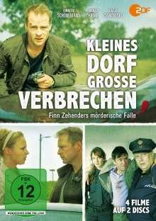 Kleines Dorf - Große Verbrechen: Finn Zehenders mörderische Fälle, 2 DVDs