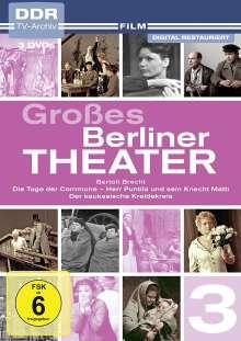 Großes Berliner Theater Teil 3, 3 DVDs
