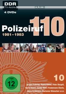 Polizeiruf 110 Box 10, 4 DVDs