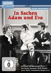In Sachen Adam und Eva, DVD