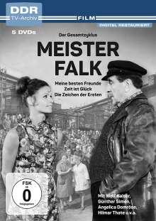 Meister Falk: Der Gesamtzyklus (Meine besten Freunde / Zeit ist Glück / Die Zeichen der Ersten), 3 DVDs