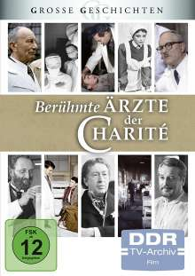 Berühmte Ärzte der Charité, 4 DVDs
