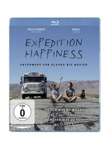 Expedition Happiness (Blu-ray), Blu-ray Disc