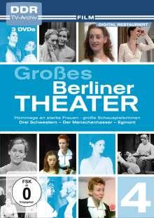 Großes Berliner Theater Teil 4, 3 DVDs