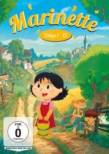 Marinette Folge 1-13, DVD