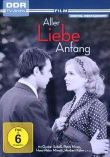 Aller Liebe Anfang, DVD
