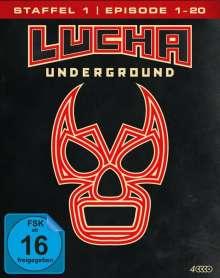 Lucha Underground Staffel 1 Box 1 (Blu-ray), 4 Blu-ray Discs