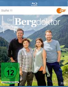 Der Bergdoktor Staffel 11 (2018) (Blu-ray), 3 Blu-ray Discs