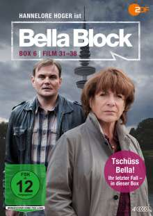 Bella Block Box 6 (Fall 31-38), 4 DVDs