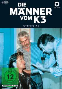 Die Männer vom K3 Staffel 3 Box 1, DVD