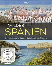 Wildes Spanien: Der meditarrene Süden / Der atlantische Norden (Blu-ray), Blu-ray Disc