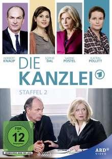 Die Kanzlei Staffel 2, 4 DVDs