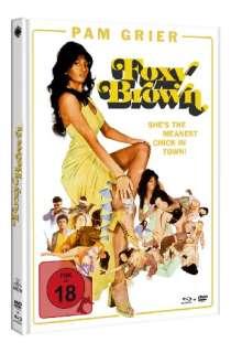 Foxy Brown (Blu-ray & DVD im Mediabook), 1 Blu-ray Disc und 1 DVD