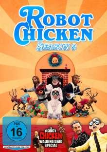 Robot Chicken Season 9, DVD